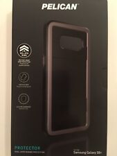 Pelican Protector Series Hybrid Case for Samsung Galaxy S8+ Plus - Black / Grey
