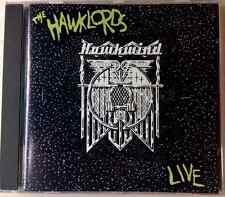 THE HAWKLORDS / LIVE - CD (UK - 1992) space rock psychedelic