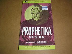 Sun Ra - Prophetika book new Kicks Books space age poetry jazz