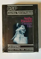 Aretha Franklin's Greatest Hits 1967 8 Track Columbia Records New Sealed