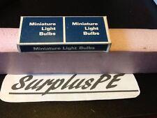 Generic Miniature Light 6V .5AMP  Single Contact Bayonet FlashLight Bulb (10PK)