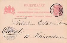 Briefkaart van Den Haag naar Kassel, Duitsland (1901)