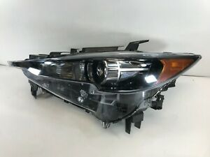 2017 2018 2019 Mazda CX-5 CX5 Left LH Headlight LED NON-AFS OEM Tabs-Good