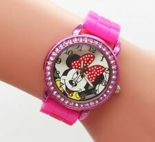 1 pc Very cute  hot sale Mini Mouse Watch For Kids/Teens Silicon with Box