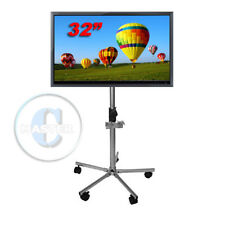 MUSEUM GALLERY CLASSROOM HOSPITAL BANK LCD LED TV MONITOR MOUNT SCREEN DEMO CART