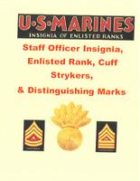 1880s SpanAm to Current Marine USMC Officer Chevron Cuff Stryker Book Many Pics!