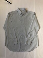 Perfect Men's Finamore Napoli Shirt Sz 17.75-36 Made in Italy