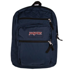 "Jansport ""Big Student"" Backpack (Navy) Standard School Book Bag Authentic"