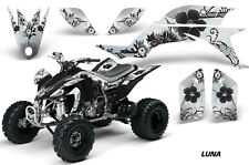 Yamaha YFZ 450 AMR Racing Graphic Kit Wrap Quad Decals ATV YFZ450 04-13 LUNA BLK