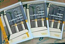 LINGUA E CULTURA LATINA VOL.1 EDIZIONE GIALLA (IN 3 VV) - N.FLOCCHINI - BOMPIANI
