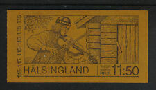 Sweden 1980 Tourism/Hälsingland complete booklet--Attractive Topical (1330a) MNH