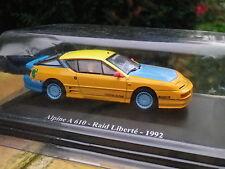 Universal Hobbies RENAULT ALPINE A610 RALLYE Raid Liberté 1992, neuve en boite.