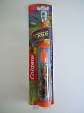 FREE SHIPPING CLEARANCE SALE NEW Colgate Ninja Turtles Orange Powered Toothbrush