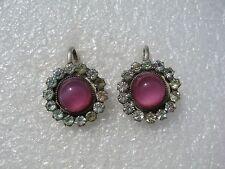 Russian Soviet Silver 875 Earrings 7,5 gr.