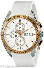 Tissot Men'sVelco-T Rose Gold-Tone Stainless Steel Swiss Watch T0244272701100