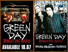 GREEN DAY Revolution Radio Ltd Ed 2 RARE HUGE New Posters +FREE Punk Rock Poster