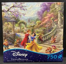 Ceaco Thomas Kinkade Disney Collection Snow White Jigsaw Puzzle, 750 Pieces