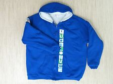 Official 2010 Vancouver Olympics Blue Sherpa Hoodie Size XL Zip-Up Pullover Warm