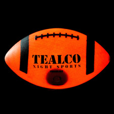 Youth Size TealCo Light Up Football & Accessories - Glow In the Dark!