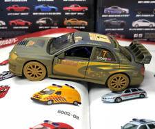 1:36 Subaru STI Race Car Model Subaru Dakar Rally Diecast Model Car