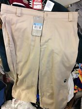 NIKE TRACKSUIT BOTTOMS IN 3/4 BOTTOMS AT £12  IN LARGE  IN BEIGE COTTON
