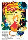 Affiche Pliée 120x160cm BRISBY ET LE SECRET DE NIMH (1982) animation R2017 NEUVE
