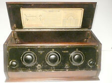 """vintage * TRINITY """"6"""" BATTERY RADIO: UNTESTED CHASSIS / no tubes"""