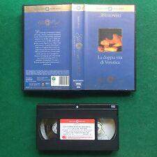 VHS Film LA DOPPIA VITA DI VERONICA Kieslowski Irene Jacob CECCHI GORI (1997)