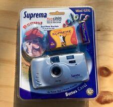 Suprema Mini Gtg 35 Mm Manual Flash Camara w/ Extras (Film/ Photo) - New/ Sealed