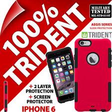Neu Trident Aegis Schützend Schutzhülle + Displayschutzfolie für APPLE IPHONE 6/