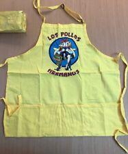 LOS POLLOS HERMANOS APRON LOOT VAULT CRATE EXCLUSIVE BREAKING BAD NEW YELLOW (K9