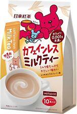 Nitto Kocha non Caffeine Milk Tea Powdered Instant Tea 10 sticks ship from Japan