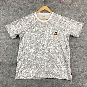 Uniqlo x Nintendo Mens T-Shirt Size L White Super Mario Short Sleeve 110.24