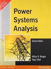 New-Power Systems Analysis by Arthur R. Bergen 2ed INTL ED