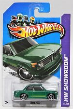 BMW 2002 * 2013 HOT WHEELS * GREEN 1968 MC5 5-SPOKE WHEEL CARD CONDITION VARIES