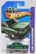 BMW 2002 * 2013 HOT WHEELS * GREEN 1968 MC5 5-SPOKE WHEEL CARD CONDITION VARIES