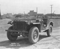 WW2 WWII Photo Early US Army Jeep Bantam BRC-40 1941 World War Two / 3163