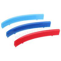 M Farben Grill Abdeckung Streifen Nieren Kühlergrill ABS Für BMW 5er E39