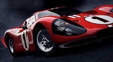 LE MANS FORD GT40 MARK IV RACE CAR POSTER PRINT 20x36 HI RES