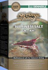 Garnelen Sulawesi Salt Dennerle Shrimp King GH+/KH+ 200g Osmose Nano 24 Std.Ver.