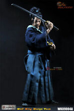 1/6 Collectible Samurai Miyamoto Takehide Action Figure Model WOLFKING WK89004A