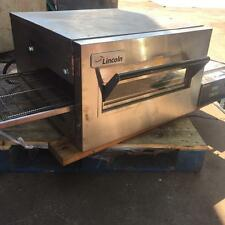 "Used Lincoln Impinger 1132 Conveyor Pizza Oven  Electric 18"" Restaurant Subs 3ph"