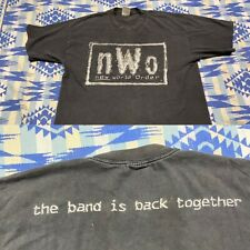 Vintage NWO T Shirt The band is back together 4 Life WCW Wrestling RARE XL