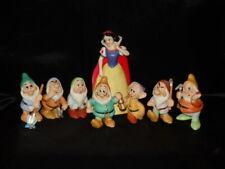 Disney's Snow White & The 7 Dwarves Mining Figurine Set w/Bonus Evil Queen/Witch