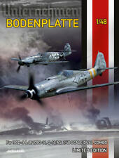 Eduard 11125 1:48th scale Limited edition Bodenplatte  Fw 190D-9 & Bf 109G-14
