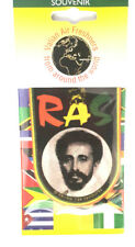 Haile Selassie Rasta car Air Freshener