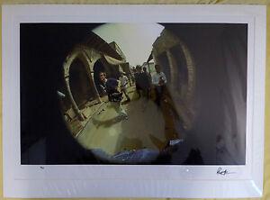 SIGNED Ringo Starr 4/25 Delhi 1966 Beatles Genesis Photograph book COA autograph