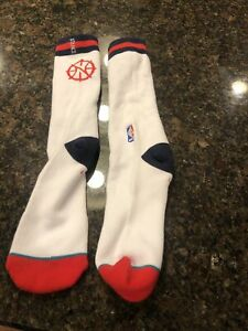 Stance White Socks Basketball NBA
