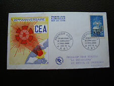 FRANCE - enveloppe 1er jour 9/10/1965 commissariat energie atomique)(cy79)french
