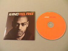 KANO FT. DAMON ALBARN Feel Free promo CD single Blur
